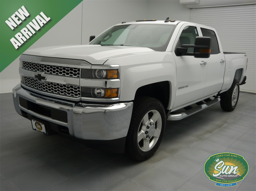 New 2019 Chevrolet Silverado 2500hd Work Truck 4d Crew Cab In